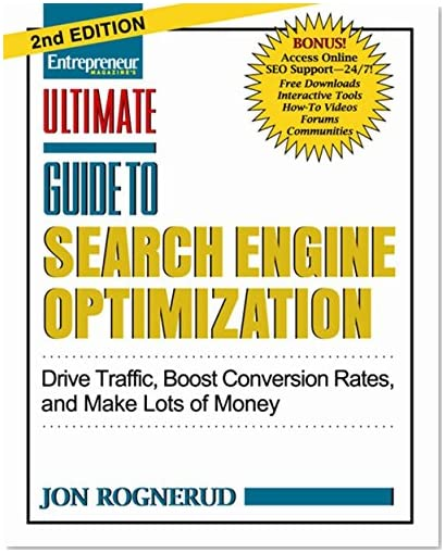 jon rognerud newest SEO book - Amazon