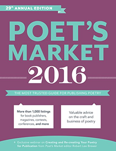 Poet's Market 2016: The Most Trusted Guide for Publishing Poetry - Robert Lee Brewer