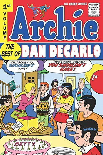 Archie: The Best of Dan DeCarlo cover