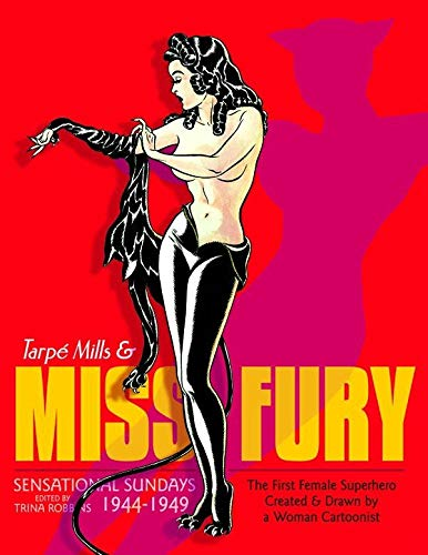 Tarpe Mills and Miss Fury Cover