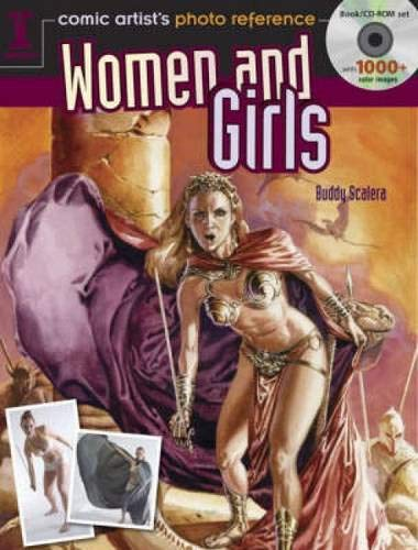 Comic Artist Photo Reference: Women and Girls cover