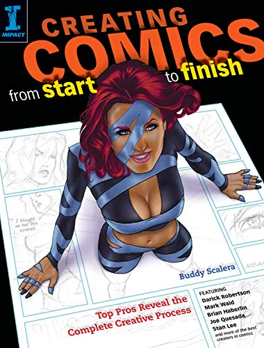 Creating Comics From Start to Finish cover