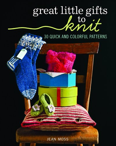 Cover of Great Little Gifts to Knit by Jean Moss