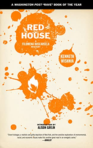Red House (A Filomena Buscarsela Mystery), Wishnia, Ken
