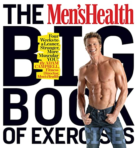 The Men's Health Big Book of Exercises Book Cover Picture