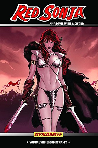 Red Sonja: She-Devil With A Sword Vol. 8 Cover