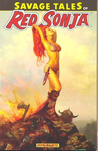 Savage Tales Of Red Sonja Cover