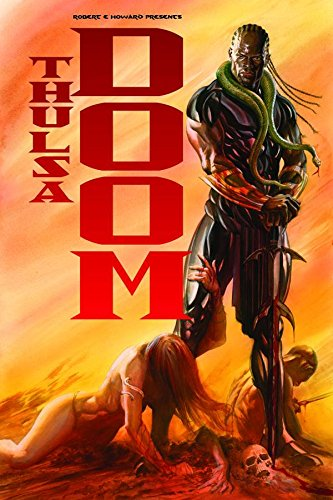 Robert E. Howard Presents Thulsa Doom  Cover
