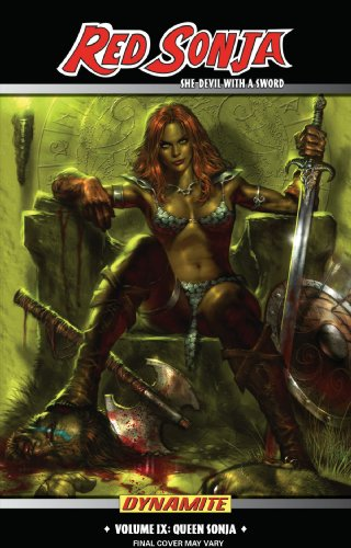 Queen Sonja Vol. 1 Cover