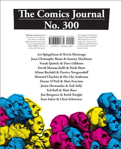 The Comics Journal #300 cover