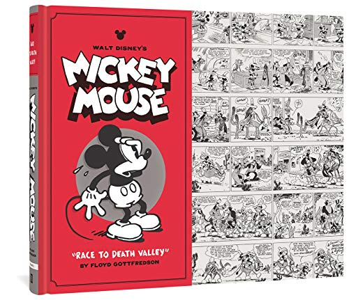 "Walt Disney's Mickey Mouse: ""Race to Death Valley"" (Vol. 1)  (Walt Disney's Mickey Mouse)"