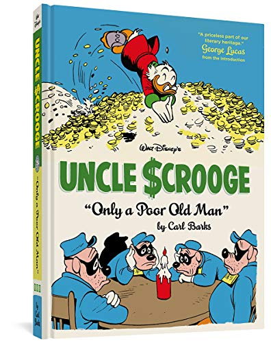 Uncle Scrooge: Only a Poor Old Man cover