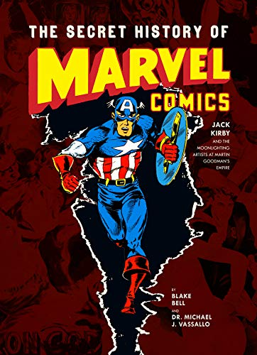 The Secret History of Marvel Comics cover