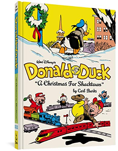 Donald Duck: A Christmas for Shacktown cover