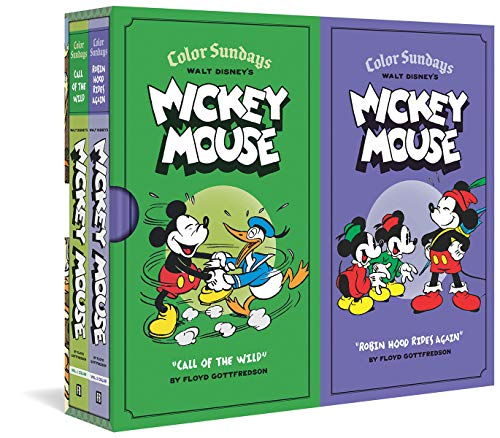 Walt Disney Mickey Mouse Color Sundays Gift Box Set cover