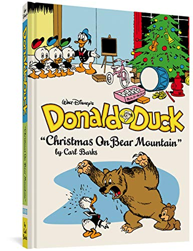 Donald Duck: Christmas on Bear Mountain cover