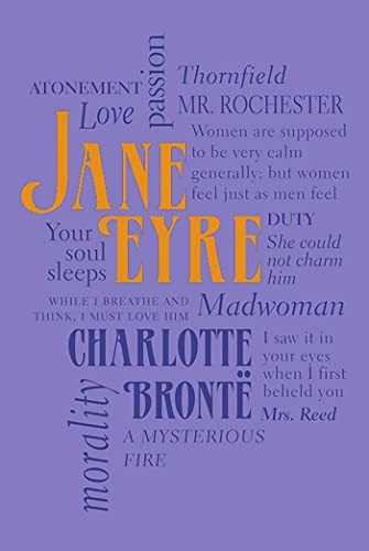 Jane Eyre with word cloud