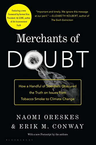 Merchants of Doubt Book Cover Picture