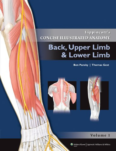 LIPPINCOTT'S CONCISE ILLUSTRATED ANATOMY : BACK, UPPER LIMB AND LOWER LIMB, VOL-1