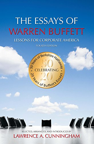 The Essays of Warren Buffett Book Cover Picture