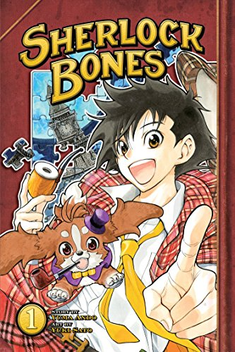 Sherlock Bones Book 1 cover