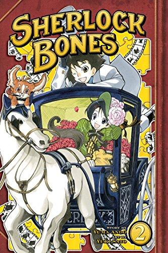 Sherlock Bones Book 2 cover