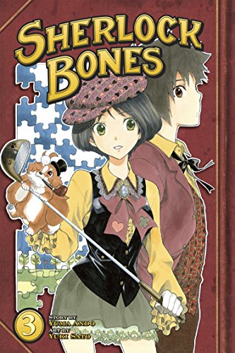 Sherlock Bones Book 3 cover