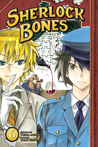 Sherlock Bones Book 6 cover