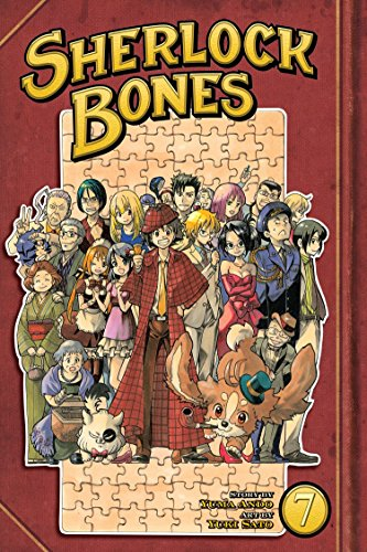 Sherlock Bones Book 7 cover
