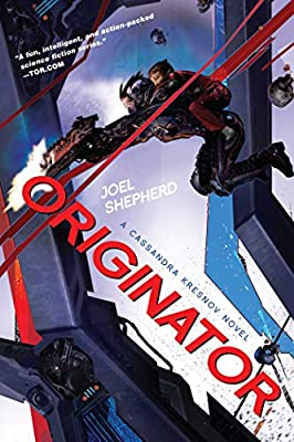 Cover & Synopsis: ORIGINATOR (A Cassandra Kresnov Novel) by Joel Shepherd