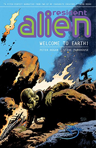 Resident Alien: Welcome to Earth! cover