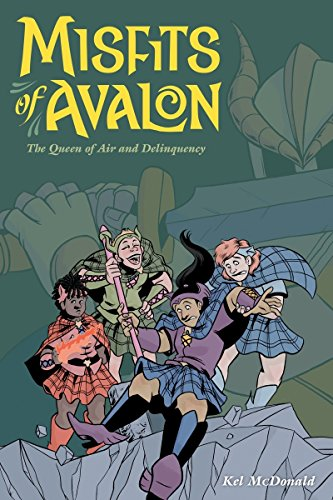 Misfits of Avalon: The Queen of Air and Delinquency cover