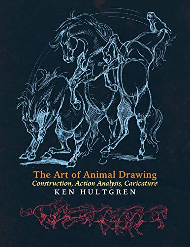 The Art of Animal Drawing Book Cover Picture
