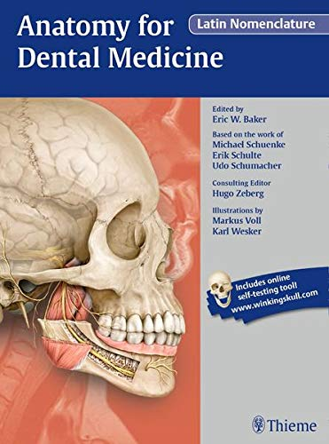 ANATOMY FOR DENTAL MEDICINE, LATIN NOMENCLATURE 1ST EDITION