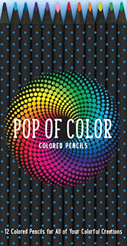 Pop of Color Pencil Set: 12 Colored Pencils for all your Colorful Creations - Editors of Rock Point