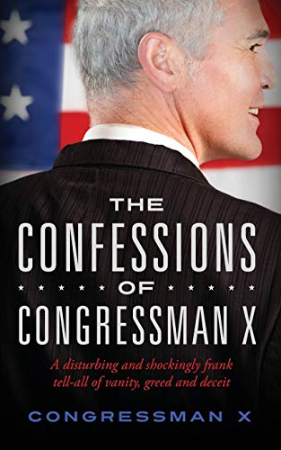 The Confessions of Congressman X Book Cover Picture