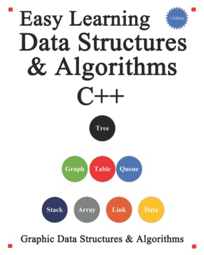 Easy Learning Data Structures & Algorithms C++: Graphic Data Structures & Algorithms