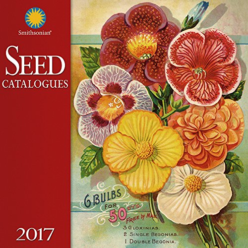 smithsonian seed catalogues wall calendar