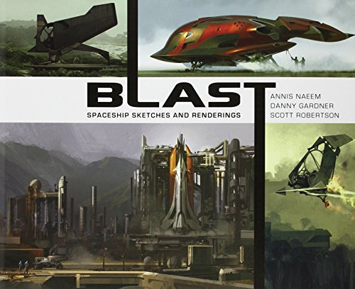 Blast - Spaceship Sketches and Renderings