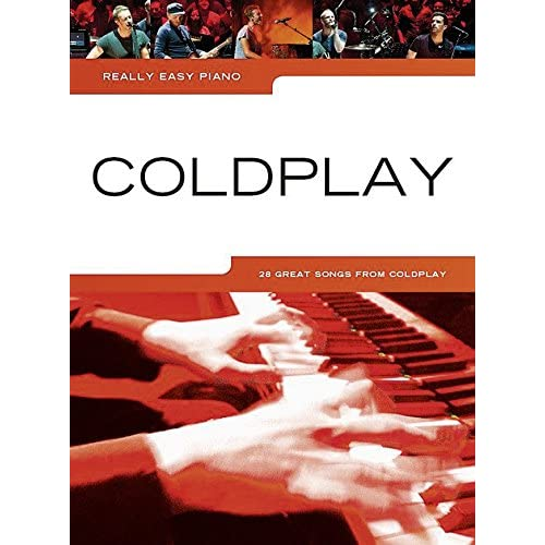 Really Easy Piano Coldplay 2014 Update PF Book Music Sales Ltd PB. 9781783057306