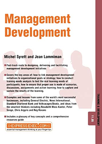 Book Cover: Management Development - Training and Development 11.5 (Training and Development