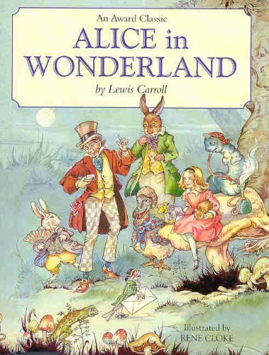 C.S. Lewis observed that Alice in Wonderland belongs to a very small class of books like The Hobbit that admit us to a world of their own. Alice aims to boldly go where no girl has gone before, writes C.S. Morrissey. (Photo: Award Publications)