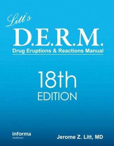 LITT'S DRUG ERUPTIONS & REACTIONS MANUAL 18ED (PB)