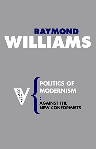 Politics of Modernism: Against the New Conformists (Radical Thinkers)