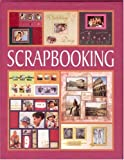 Scrapbooking with Sticker and Other and Scissors and Glue