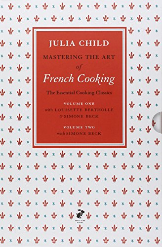 Mastering the Art of French Cooking Volumes 1 & 2. (Two Volume Slipcase)