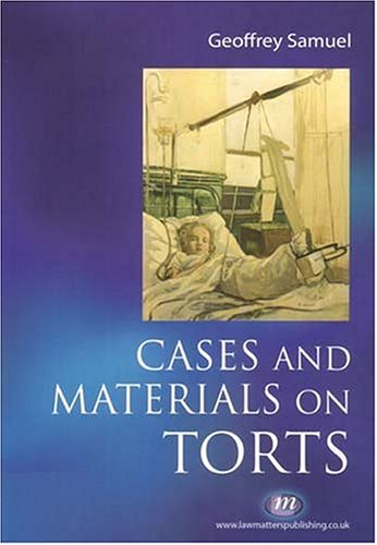Cases and Materials on Torts (Textbooks)