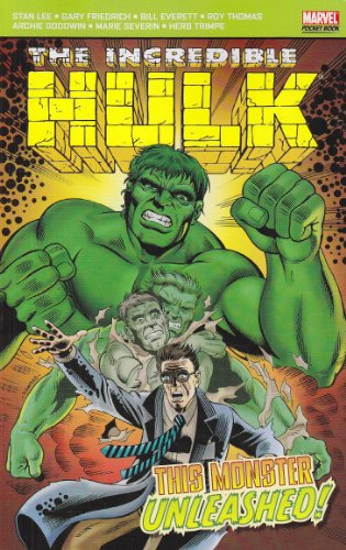 Incredible Hulk: This Monster Unleashed Cover