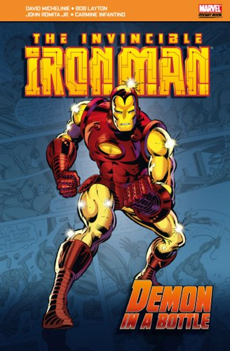 Invincible Iron Man: Demon In A Bottle Cover