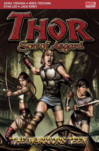 Thor, Son Of Asgard: The Warriors Teen  Cover